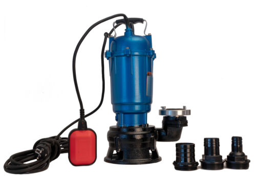 Pumpe Fäkalienpumpe Tauchpumpe Schmutzwasserpumpe 20m C-Schlauch 300l//min 550W