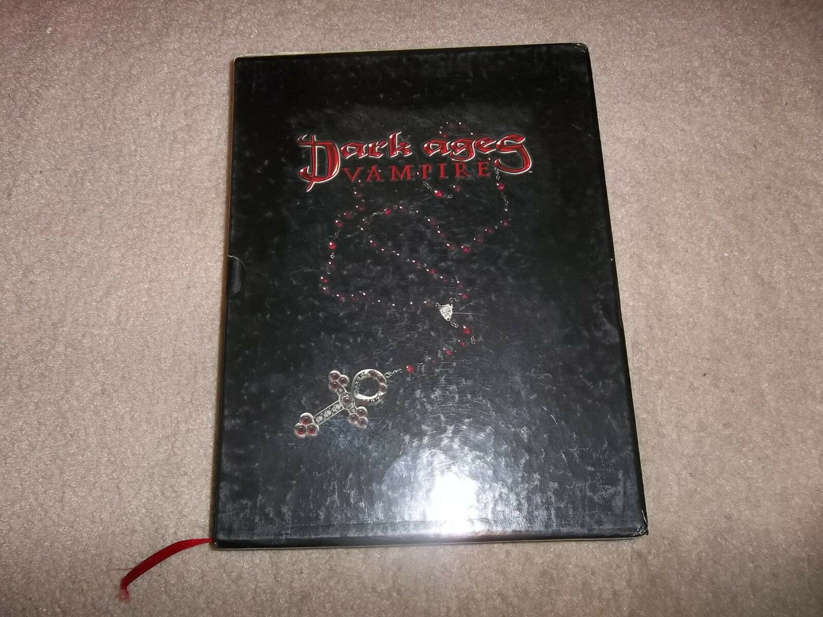 Vampire the Dark Ages Dark Ages Vampire Core Rulebook Limited Slipcase edition