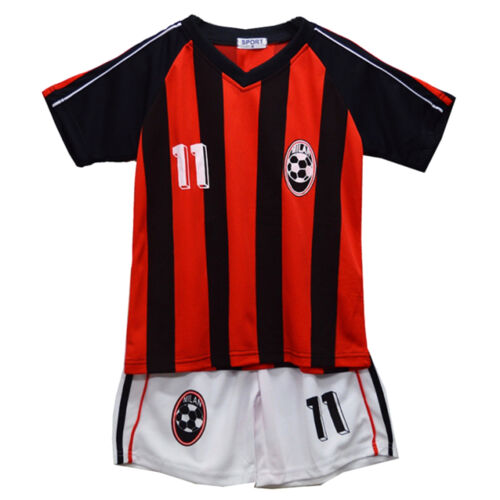 Football Summer Shorts New Boys Girls Top Vest Kit Set Size Age 2-14 Years Bnwt