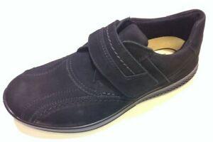 Details zu Jomos Herren Schuhe Klett Slipper Halbschuh Campus 322335 83 000 schwarz Leder