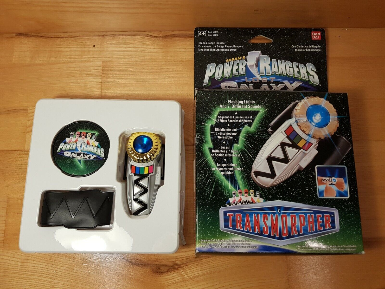 Power Rangers Lost Galaxy - Transmorpher Trans Morpher BOXED & COMPLETE