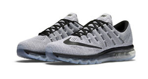 sports shoes 2d6d8 d6ca8 Nike Air Max 2016 Mens Size 11 Running Shoes White Black 806771 101