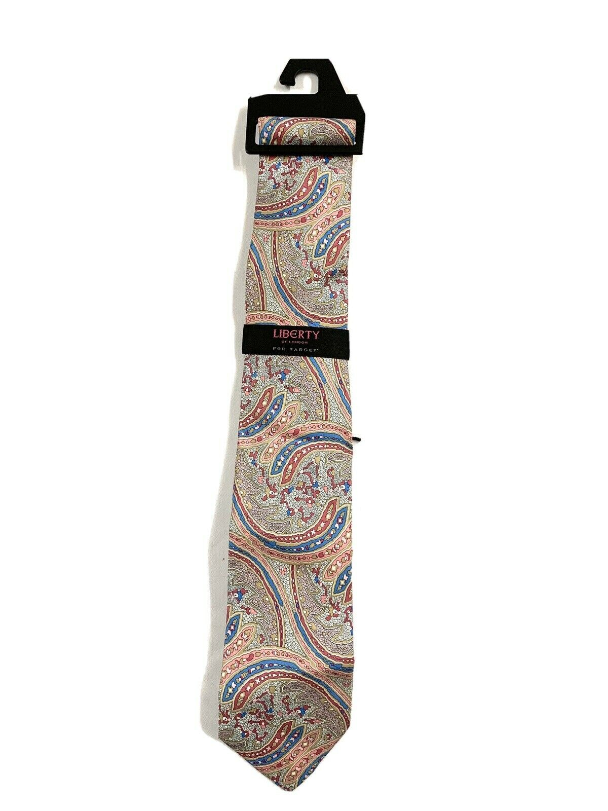 Vintage Liberty Mens Floral Tie 100% SILK PAISLEY NEW WITH TAGS