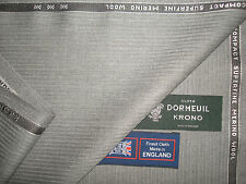 """DORMEUIL """"KRONO"""" LUXURY WOOL SUITING FABRIC 3.4 m. - MADE IN ENGLAND BY Dormeuil"""