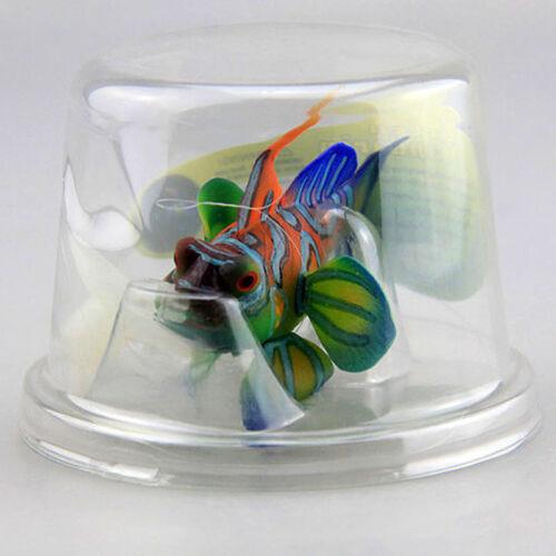 Glowing Effect Aquarium Fish Tank Decoration Artificial Marine Mandarinfish