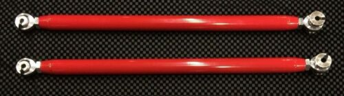 Strong Upper Rear Radius Bars Rods Polaris XP1000 RZR4 2017 12mm Bars Red