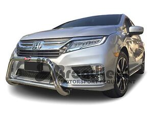 Details about Broadfeet S/S A Bar Front Bumper Guard Protector for  2018-2019 Honda Odyssey