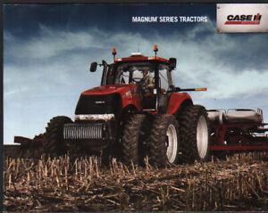 """Case Ih """"magnum"""" Série Tracteur Brochure Dépliant-afficher Le Titre D'origine Ni Trop Dur Ni Trop Mou"""