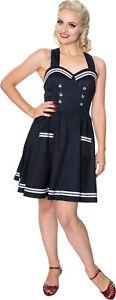 Dress Dancing Sailor Pin Matrosen Rockabilly Neckholder Next Kleid Days Up 4w4Z0v