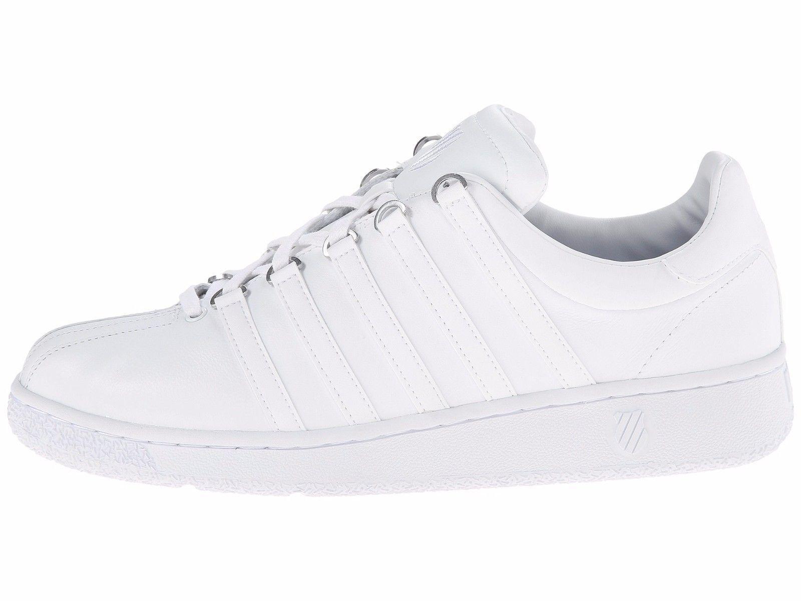 K-Swiss Classic VN White Men's Fashion Sneakers 03343-101