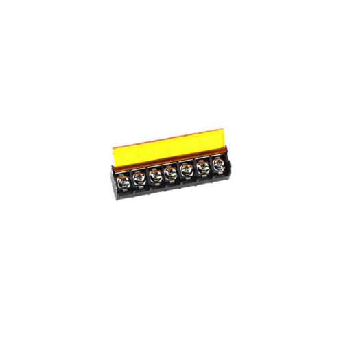 7P HB-9500 6Pcs Connector 9.5mm Barrier Terminal Block with Cover PCB Mount
