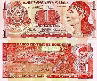 P 94b  Uncirculated Banknotes 50 LEMPIRAS  2010  Prefix AN HONDURAS