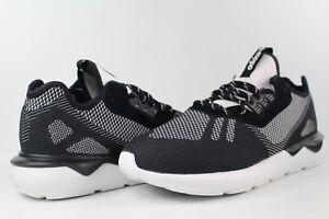 the latest 27451 d1999 Image is loading adidas-Tubular-Runner-Weave-Core-Black-White-Size-