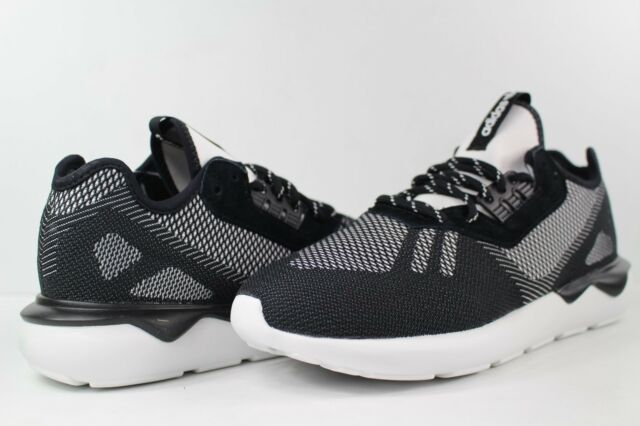 best service 17b46 1ad43 adidas Tubular Runner Weave Core Black White Size 11.5 S74813 Primeknit for  sale online   eBay
