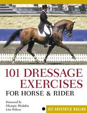 101 Dressage Exercises for Horse and Rider by Jec Aristotle Ballou, (Plastic Com