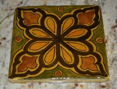 Moroccan Kitchen Tiles Ceramic Mexican Spanish Mediterranean Zellige Mosaic Art