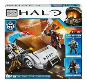 MEGA-BLOKS-boite-neuve-HALO-figurines-Covenant-Police-Cruiser-Standoff-ref-97452