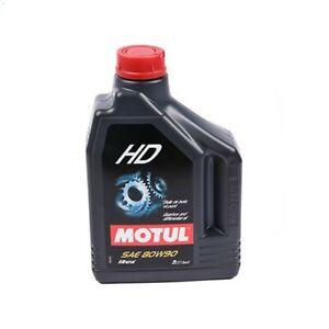 Huile de transmission MOTUL HD 80W90 - minérale - 2 litres