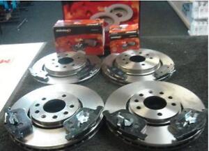 SAAB-9-3-1-9-TiD-disque-de-frein-plaquettes-de-Frein-Mintex-Avant-Disque-De-Frein-Arriere-amp-pad