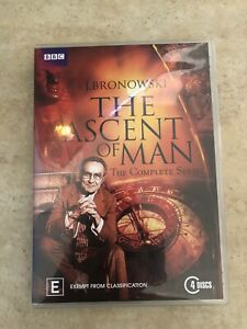 BBC-THE-ASCENT-OF-MAN-COMPLETE-SERIES-4-DISC-SET-DVD-R4-AUS-SELLER