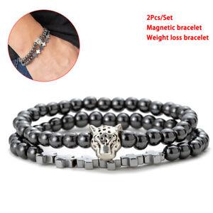 Crosses-Hematite-Stone-Bead-Bracelet-Men-Unique-Charms-Handmade-Jewelry-G-ls