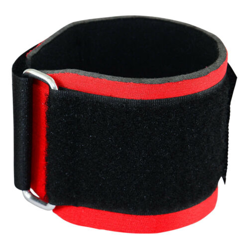 Weight Lifting Wraps Wrist Support Gym Training Straps MRX Bandage Red