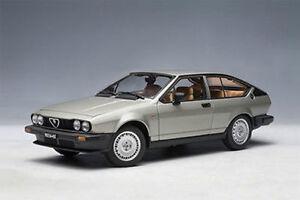 1-18-Autoart-Alfa-Romeo-Alfetta-2-0-Gtv-1980-Plata-Plata