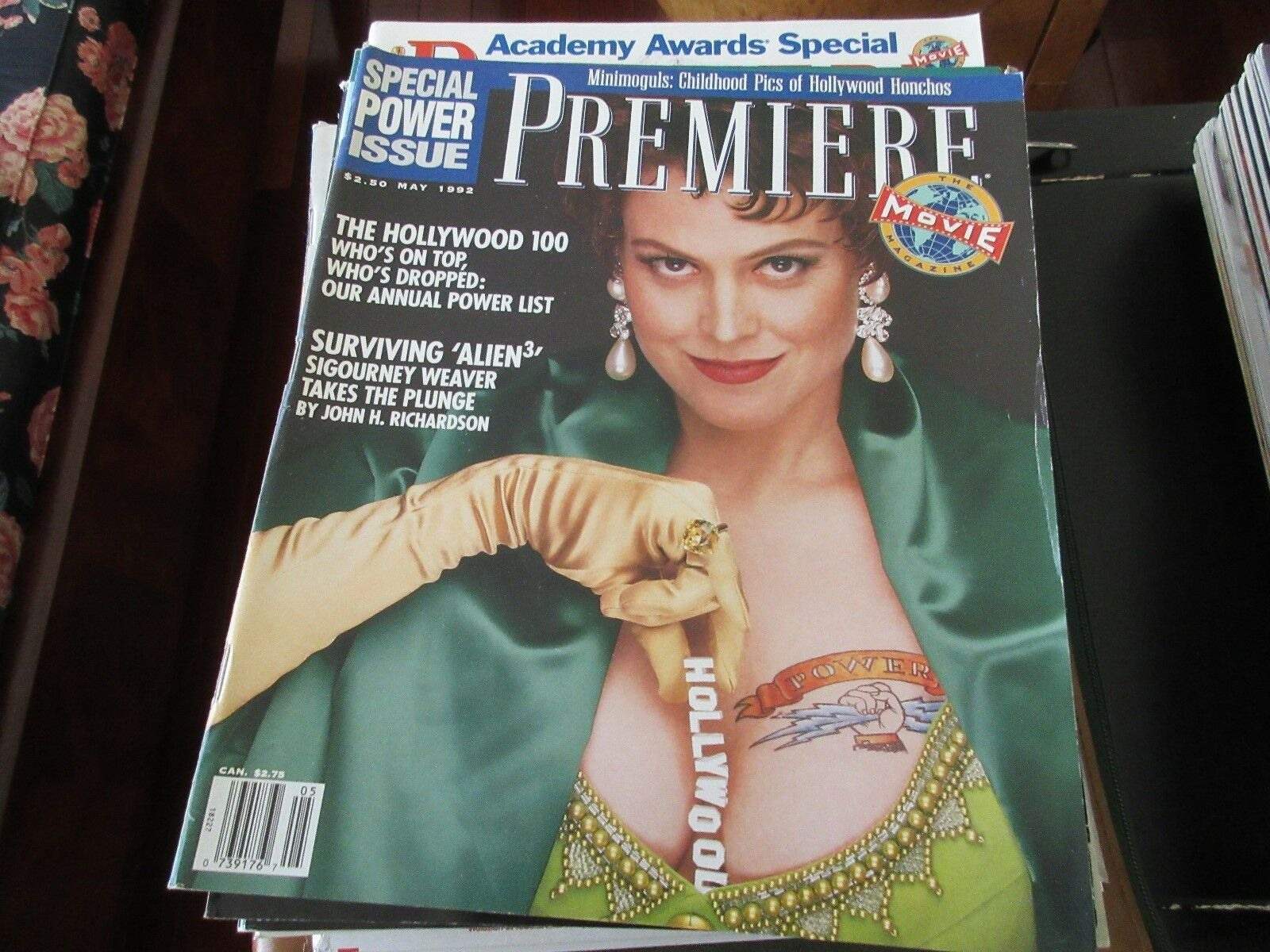 Sigourney Weaver , Premiere Magazine , May 1992 , The H
