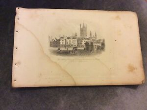 Antique-Book-Print-Abbey-Church-Literary-Institution-Bath-c-1850
