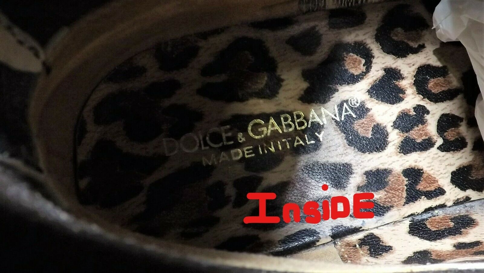 Women's Designer Boots Zebra Animal Print b/w Dol… - image 7
