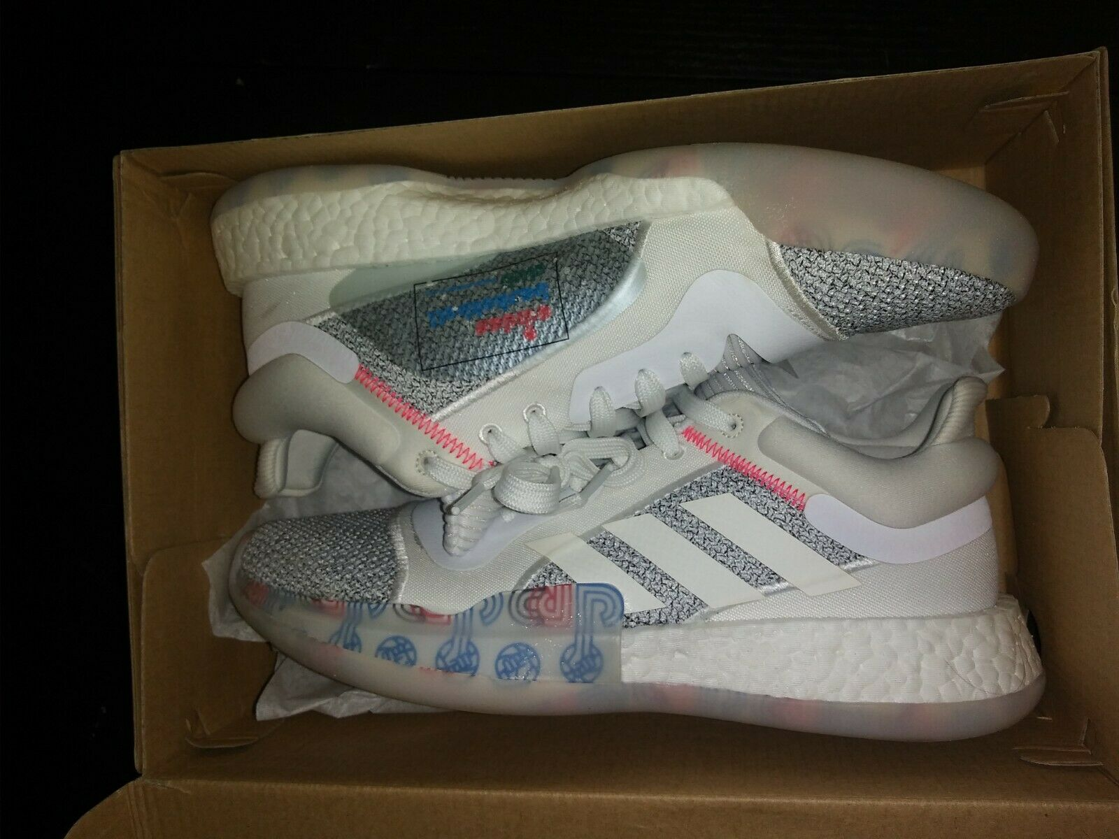 Adidas Marquee Boost Low Off White Size 10