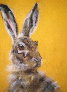 Hare-March-Hare-Needle-Felted-Card-Original-Artwork-not-a-print