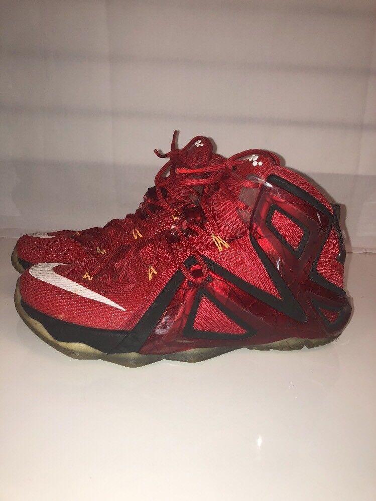 Nike Lebron XII 12 Elite Team University Red Mens Comfortable
