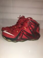 9f87a7459264a item 4 Nike Lebron XII 12 Elite Team University Red Mens Size 9.5  Basketball 724559-618 -Nike Lebron XII 12 Elite Team University Red Mens  Size 9.5 ...