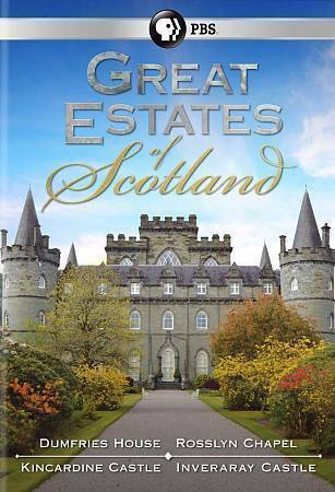 Great Estates Of Scotland LIKE NEW 2 DVD Set - $7.99