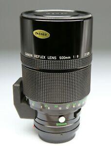 CANON-REFLEX-LENS-FD-500-8
