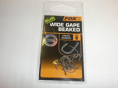 Fox Edges Curve Shank Medium Hooks 10pk ALL VARIETIES Carp fishing tackle