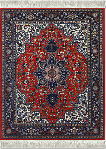 MOUSERUG-MOUSE-PAD-TABRIZ-HERIZ-ORIENTAL-RUG-ORIENTAL-COMPUTER-RUGS-NEW-10X7-25-034