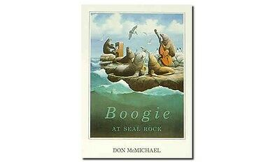 Boogie at Seal Rock by Don McMichael Poster