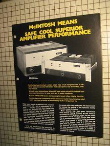 Mcintosh-MC-2120-MC-2200-Original-Power-Amps-Brochure
