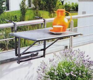 balkonh ngetisch balkontisch tisch klapptisch h ngetisch balkon klapptisch neu ebay. Black Bedroom Furniture Sets. Home Design Ideas