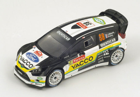 SPARK Ford Fiesta RS WRC  38 Rally Monte Carlo 2012 Julien Maurin S3347 1 43