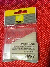 Nikon GENUINE BM-7 LCD Monitor Cover GENUINE NIKON D80 MONITOR COVER NEW