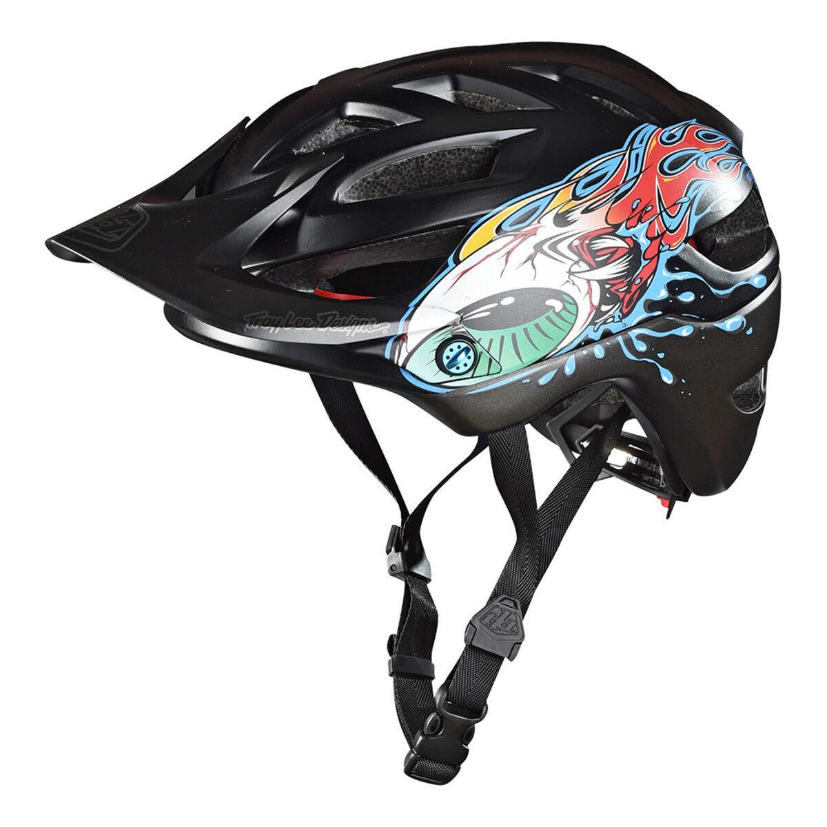 2018 TLD Troy Lee Designs Youth A1 Mips Eyeball Mountain Bike Helmet DH Cycle