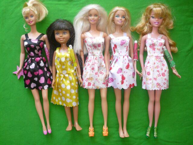 Bambola Barbie e gli amici LOTTO per gioco o OOAK