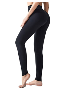 High Waisted Yoga Pants Tummy Control Compression w Workout Leggings for Women
