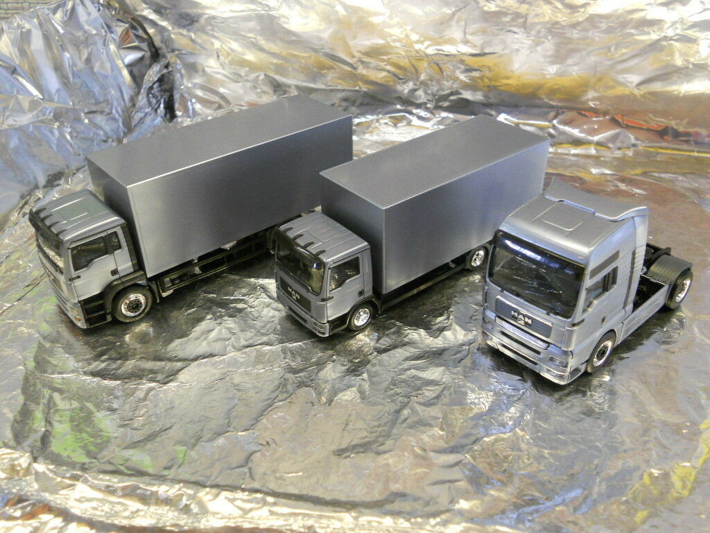 HERPA 281935 Précautions trois camion Man Set klassentreffen 1 87 l'échelle HO