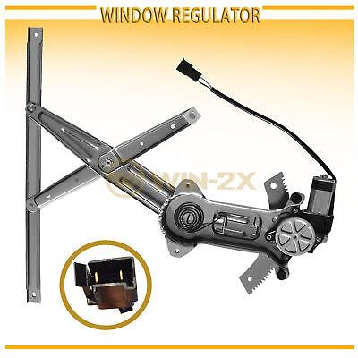 1pc Front Right Power Window Regulator w// Motor Assy Fit 94-97 Accord 4//5-Door