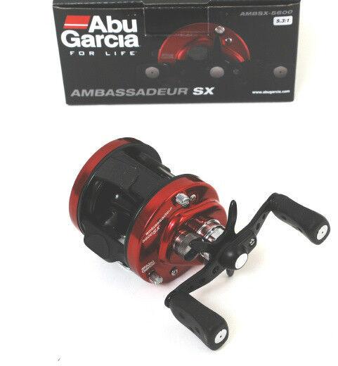 Abu Garcia Ambassadeur AMBSX-5600  Baitcast Fishing Reel, NEW