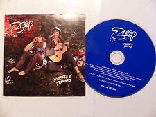 CD  album promo 12 titres ZEEP People & things           cram 148 p FOLK ROCK